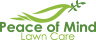 Peace of Mind Lawn Care logo